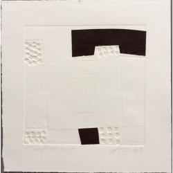Kaffeeprägedruck 38 x 38 cm